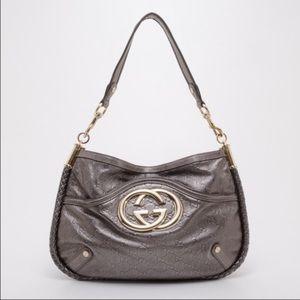 Gucci Guccissima Brit Style Bag